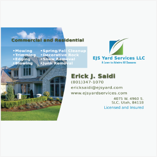 logo ejs yard services